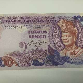 RM100 NOTED