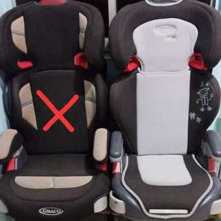 Graco car seat for children