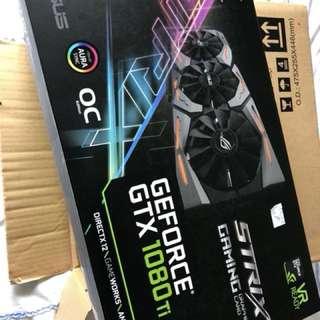 Asus STRIX GTX 1080ti OC 11GB ROG