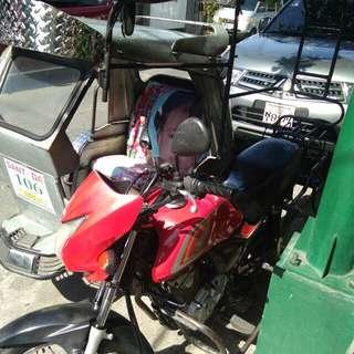 Honda 125 with sidecar