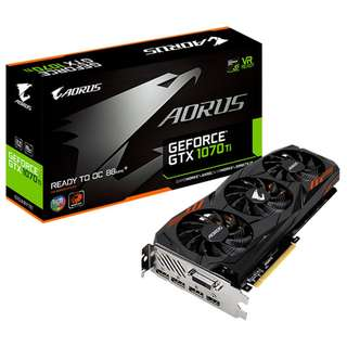 BNIB AORUS GeForce® GTX 1070Ti 8G GDDR5 GRAPHICS CARD For Mining or Gaming