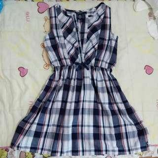 Preloved Checkered Dress