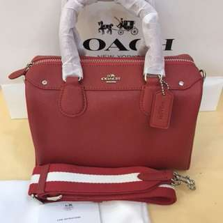 Original coach women Handbag sling bag crossbody bag Bennett ready stock