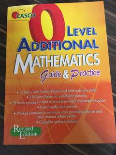 NEW best O level Additional math guide and practice