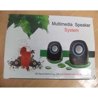 Multimedia 2.0 Mini Speaker system