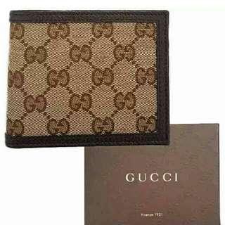 Gucci mens classic Wallet
