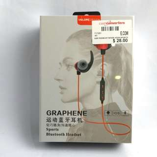 BNIB Yolope Bluetooth Sports Headset