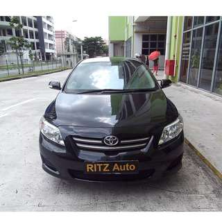 2010 Toyota Altis 1.6A UBER GRAB PERSONAL Rental