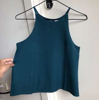 Green top with double layer