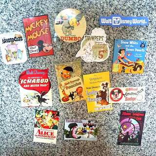 Disney Vintage Stickers