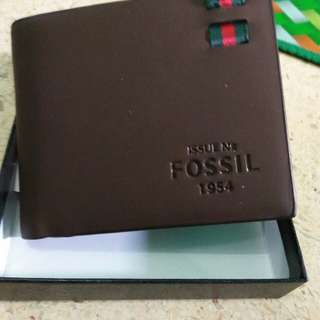 Dompet fossil pria ori