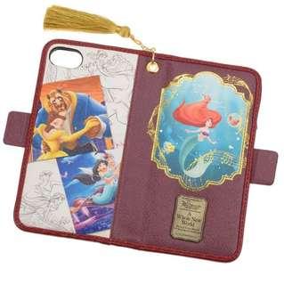 🇯🇵日本代購 迪士尼 Disney 美人魚 Aerial 長髮公主 貝兒 iPhone 6/6s/7/8 case