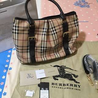 Guaranteed authentic burberry bag