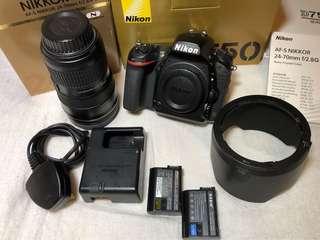 Nikon D750 + 24-70