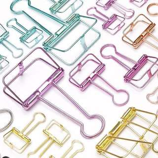 [Instock] Metallic Clips