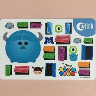 Limited Edition brand new Tsum Tsum Monster Inc Design ezlink Card For $6.90.