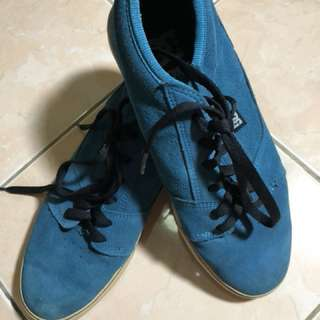 Blue Suede DC Shoes