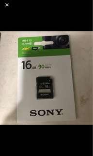 16gb SD memory card
