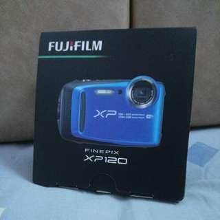 Fujifilm xp120 三防相機