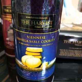 THE HARVEST COOKIES VIENNESE VANILLA SABLE COOKIES