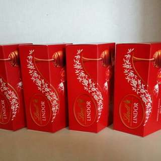 瑞士蓮軟心牛奶朱古力,三粒裝,每盒