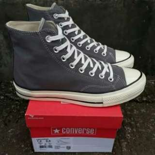 Converse High 1970s DK Grey Of White
