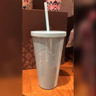 Starbucks Icy Blue Stainless Steel Cold Cup