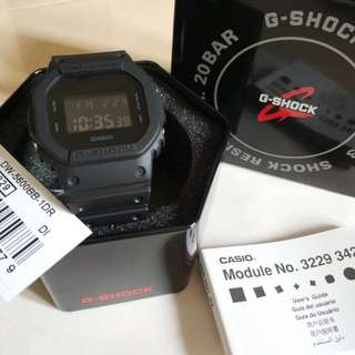Casio GSHOCK DW-5600BB-1DR (DW-5600BB-1 | DW-5600BB | DW-5600 )