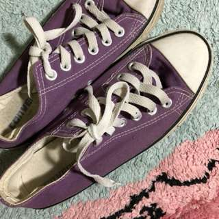 Converse All Star Classic Purple Sneakers