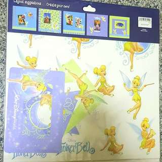 Disney Tinkerbell Scrapbook Kit