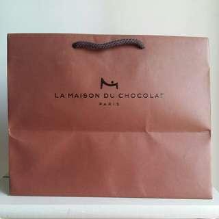 La Maison du chocolate paper bag