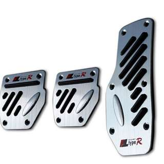 V2 Racing Car Foot Pedal for Manual Transmission 3 Pcs Easy Fix