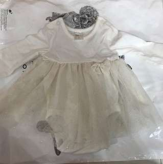 Free Baby Girl H&M tutu romper dress