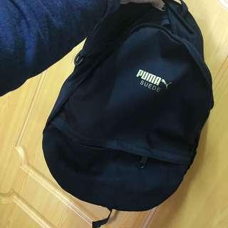 全新|puma兩層+1小分層筆電後背包(附吊牌)