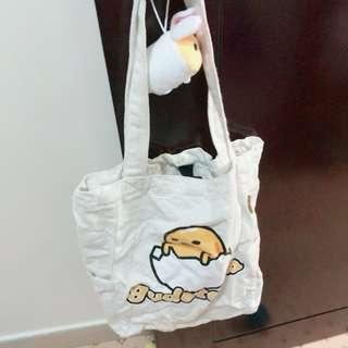 蛋黃哥側揹袋