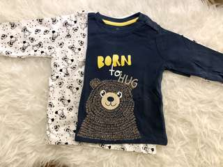 Bear Long Sleeves T-Shirt