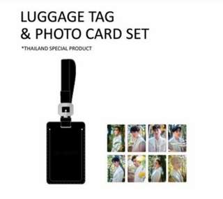 EXO The ElyXiOn Goods - Luggage Tag Limited Photocards