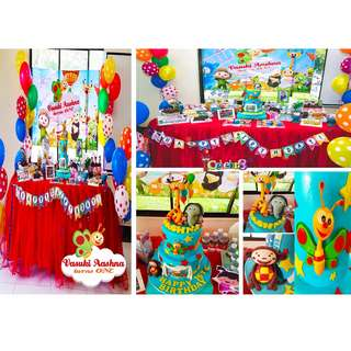 BABY TV Themed Birthday Party (Party Supplies) Pls CHAT with us for the detailed/specific product listing & price.. We Have wide range of stocks pre printed & personalized printables…