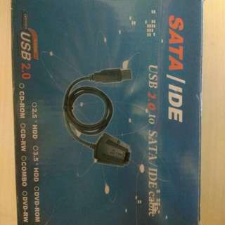 SATA to IDE USB2.0 cable