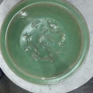 Piring kuno antik celadon