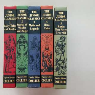 A set of Junior Classics (10 hardcover books)