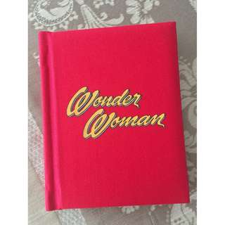 Limited Edition DC Comics Wonder Woman Address Book Collection (Padded Fabric cover)