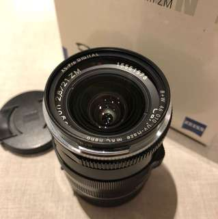 Zeiss 21mm 2.8 Biogon ZM
