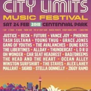 City Limits Tickets for Sat Feb 24