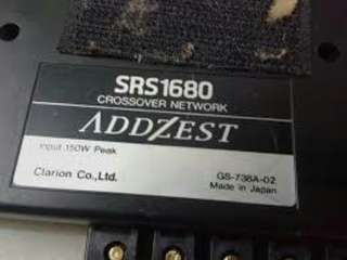 ADDZEST SRS1680 Crossover