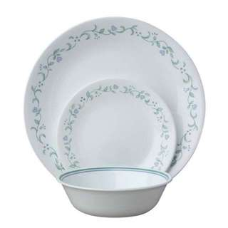 Corelle Dinnerware glass dinnerware, Country Cottage 18pcs serving for 6 pax