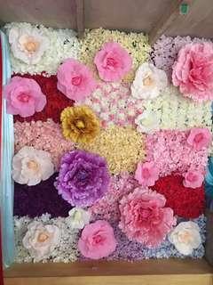 Artificial Flower Wall