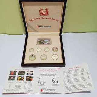 2002 Sterling Silver Proof Coin Set