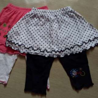 Baby Girl Pants 2 set