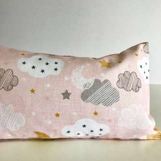 Bean Sprout Husk Pillow / Beanie Pillow , Fabric from USA ( 100% Handmade 100% Cotton , Premium Quality!)